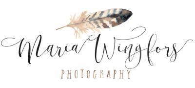 Fotograf Maria Wingfors logo
